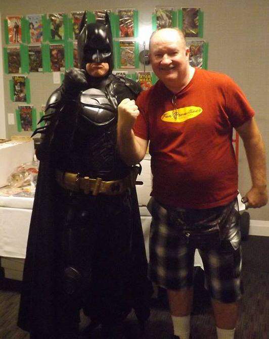 Verne with Batman